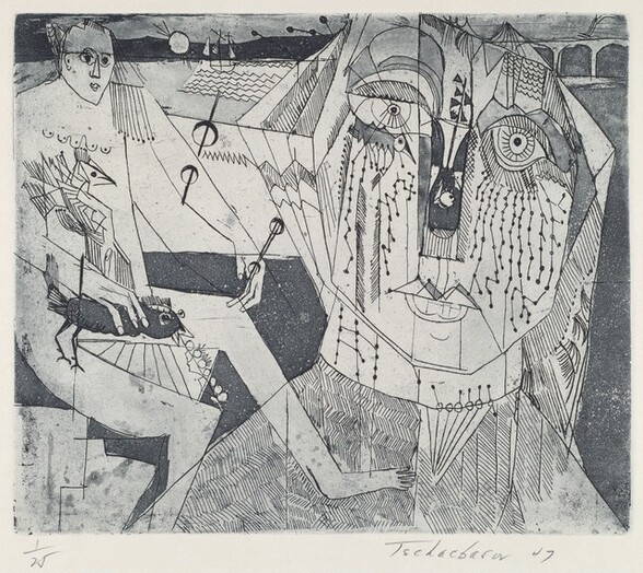 Untitled (Two Women at the Shore)