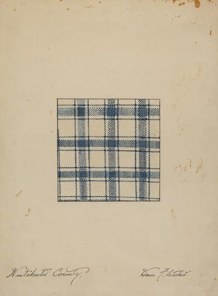 Piece of Handwoven Linen