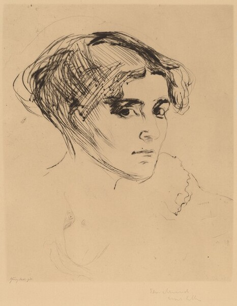 Head of a Girl (Madchenkopf)