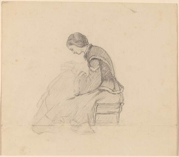 Study of a Girl Reading