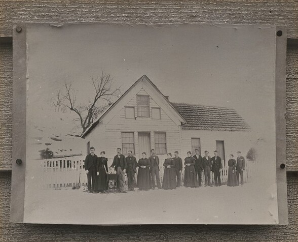Photograph of Morris Family Homestead in Ohio
