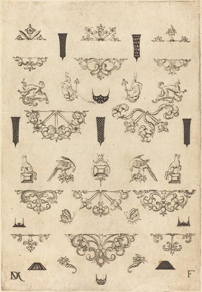 Eleven Different Studs and Twenty-Three Ornaments