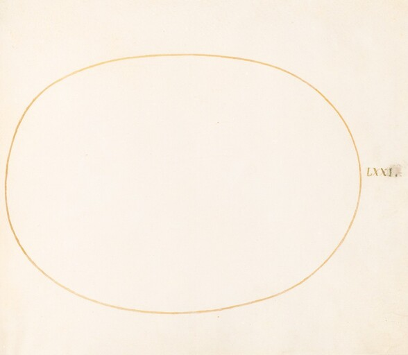 Plate 72: Empty Oval