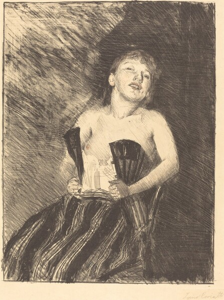 Mädchen im Korsett (Girl in a Corset)