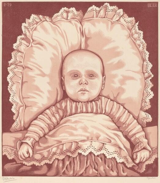 Infant (A.E. Escher)