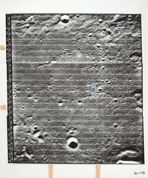 Lunar Orbiter, Medium Resolution, LO V-24 M-099