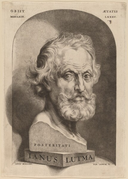 Janus Lutma, the Elder (Posteritati)