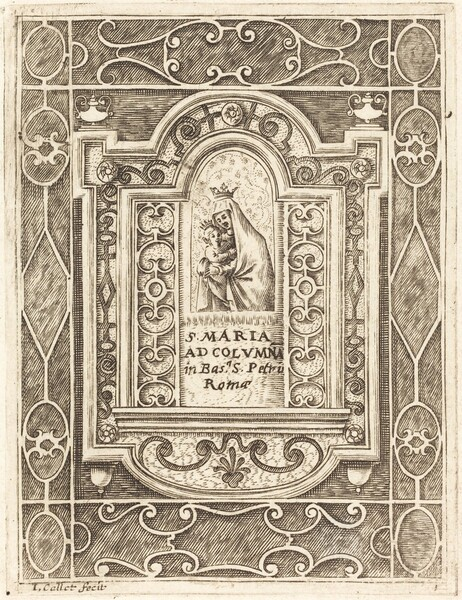 The Virgin at the Column (La Vierge à la colonne)