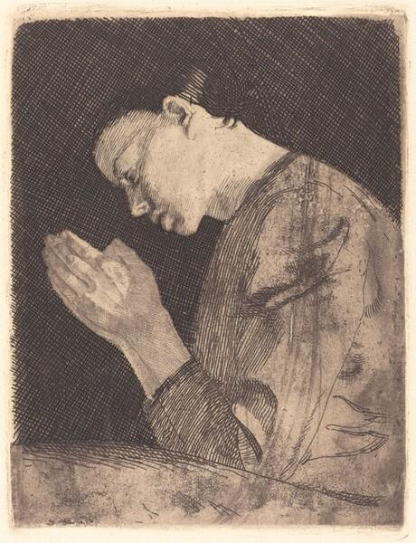 Betendes Mädchen (Girl Praying)