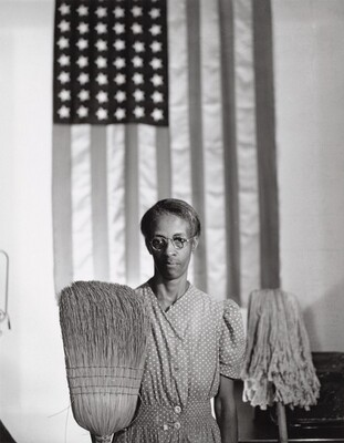 Gordon Parks, Washington, D.C. Government Charwoman (American Gothic), July 1942July 1942