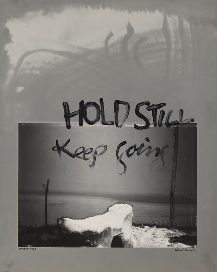 Robert Frank, Hold Still--Keep Going, 1989