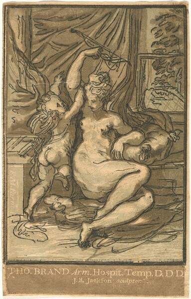 Venus and Cupid with a Bow