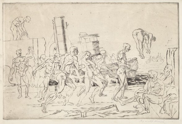 Bathers-in-the-Hudson