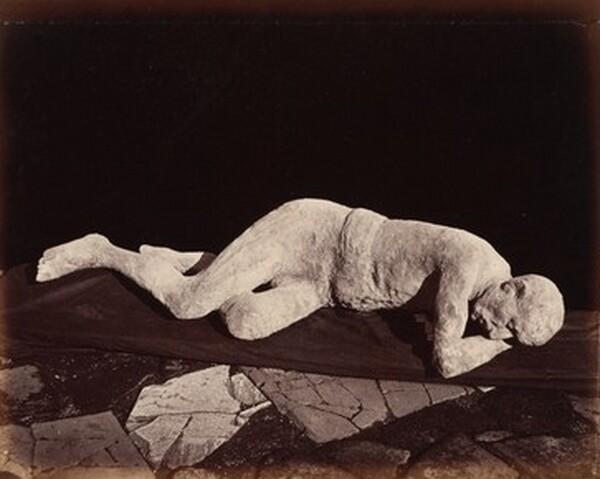 Impronte Umane, Pompei (Human Cast, Pompeii)