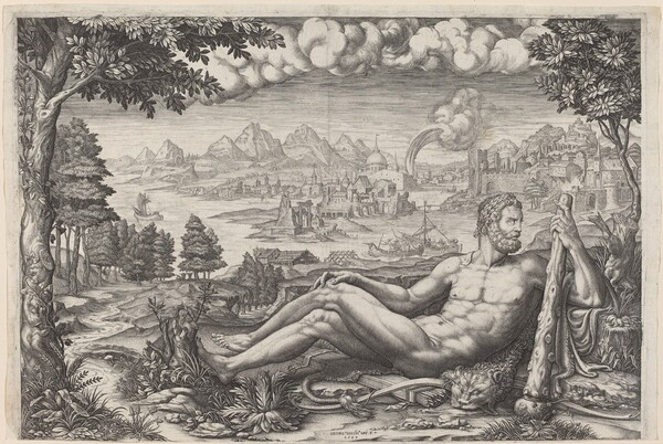 Hercules Resting from His Labors