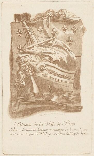 Blason de la Ville de Paris (Arms of the City of Paris)
