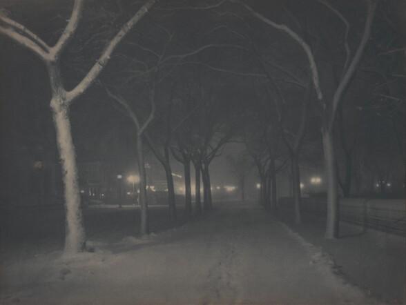 An Icy Night
