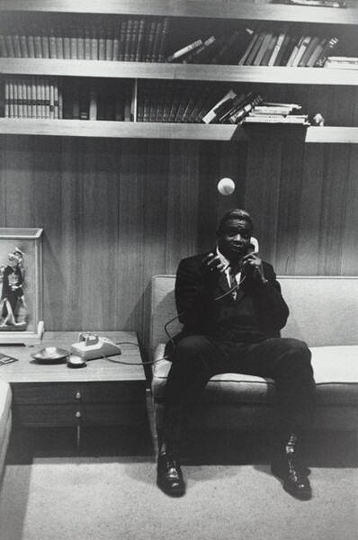 Jackie Robinson, at Home in Connecticut