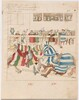 Freydal, The Book of Jousts and Tournaments of Emperor Maximilian I: Combats on Horseback (Jousts)(Volume I): Plate 40