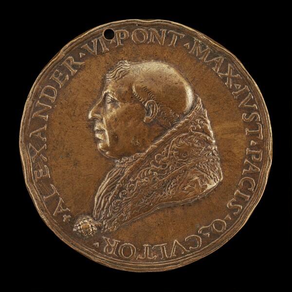 Alexander VI (Rodrigo Borgia, c. 1431-1503), Pope 1492 [obverse]