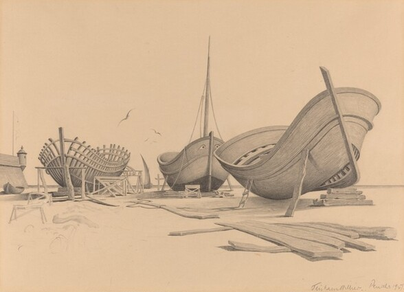 Shipbuilding at Peniche