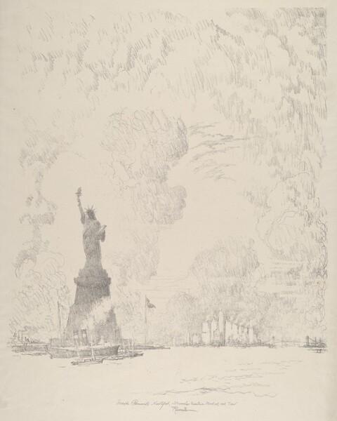 The Statue, New York Bay