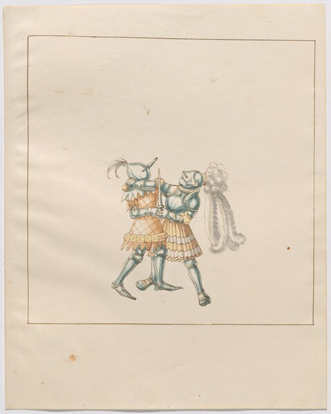 Freydal, The Book of Jousts and Tournament of Emperor Maximilian I: Combats on Foot (Jousts)(Volume III): Plate 174