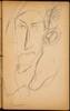 Männliche Bildnisstudie (Male Portrait) [p. 37]
