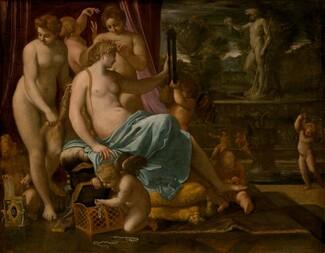 Annibale Carracci, Venus Adorned by the Graces, 1590/1595