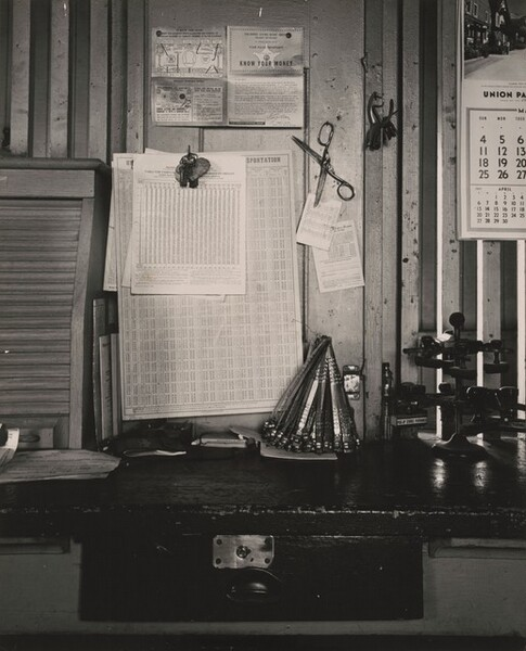 Railroad Station Office, Nebraska