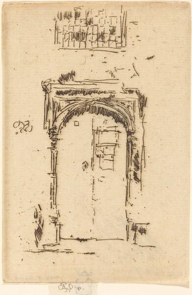 Church Doorway, Edgemere