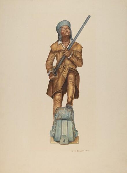 Figurehead: Davy Crockett