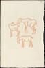 Third Book: Three Goats, Fifth Plate (Chevreaux, cinquieme planche)