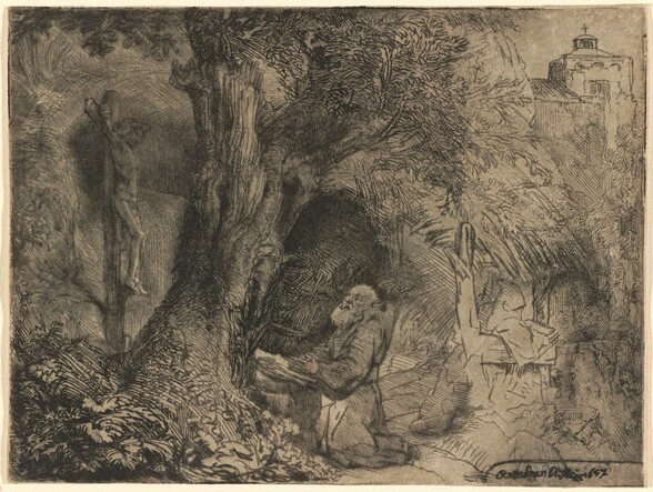 Saint Francis beneath a Tree Praying