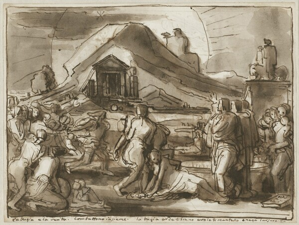 An Allegory of Truth and Falsehood (verso)