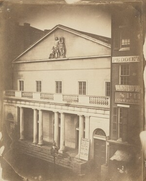 Frederick DeBourg Richards, Arch St. Theatre, Arch at 6th St., Philadelphia, c. 1859
