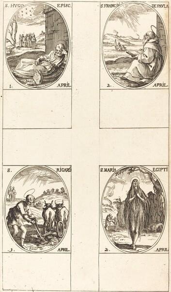 St. Hugo; St. Francis of Paula; St. Mary of Egypt; St. Richard