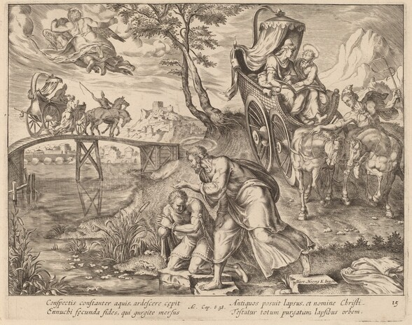 The Baptism of the Eunuch by Saint Philip