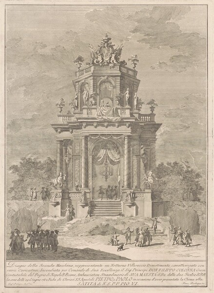 The Seconda Macchina for the Chinea of 1782: A Countryside Festival at Night