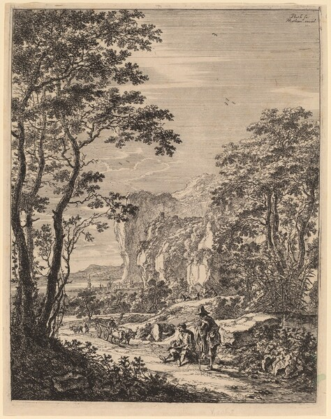 The Ox-Cart: View between Ancona and Sinigaglia