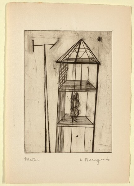 He Disappeared into Complete Silence, Plate 4
