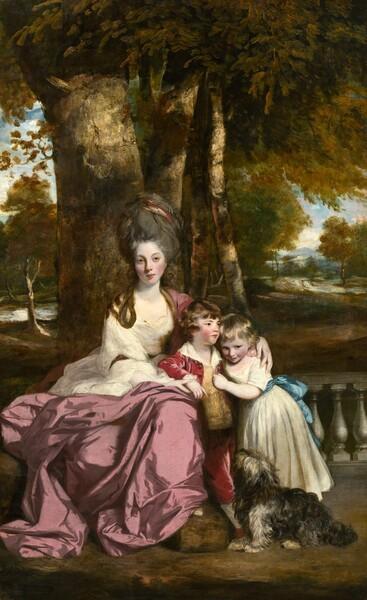 Lady Elizabeth Delmé and Her Children