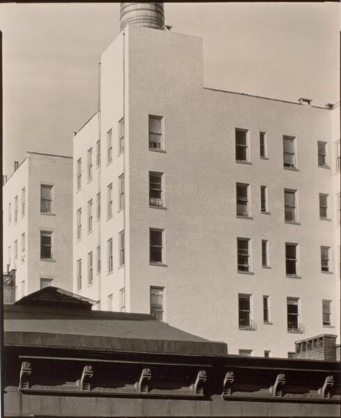 Apartment Repainted, New York [recto]