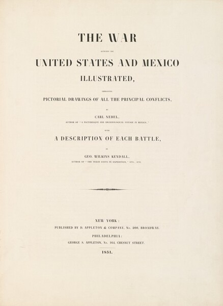 The War Between the United States and Mexico