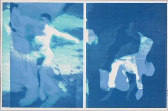Nureyev Flying (blue)