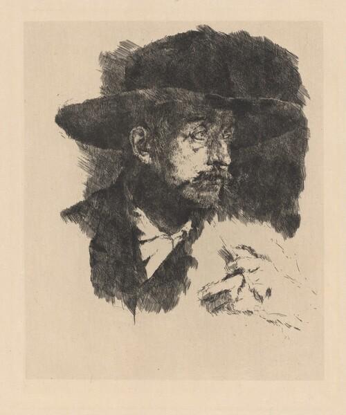 The Smoker (Portrait of the Painter Horstig)