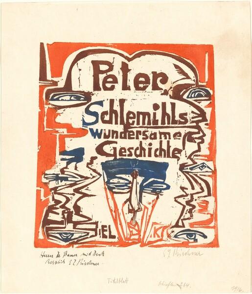 Peter Schlemihls wundersame Geschichte (Peter Schlemihl