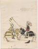 Freydal, The Book of Jousts and Tournaments of Emperor Maximilian I: Combats on Horseback (Jousts)(Volume I): Plate 61