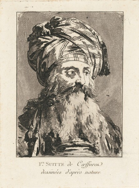 Title Page: Head of a Turbaned Man