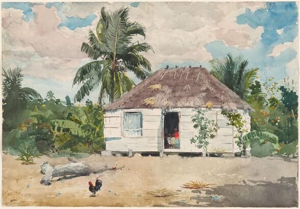 Native hut at Nassau